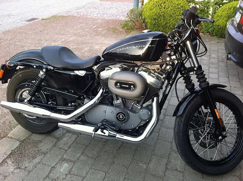 Efterlysning – Harley-Davidson XL 1200 Nightster stulen i Limhamn