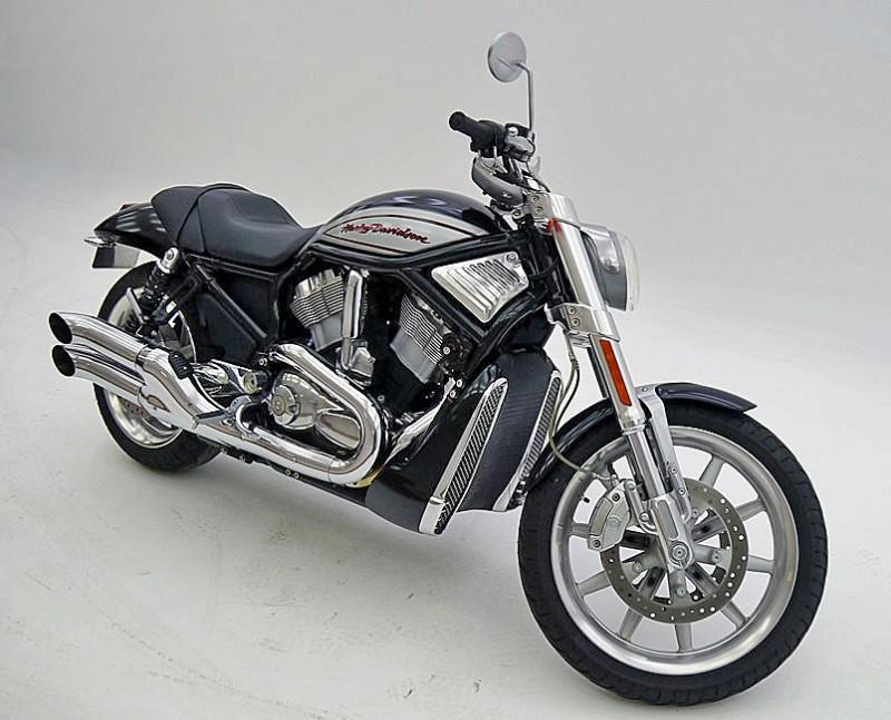 Efterlysning – Svart Harley-Davidson VRSCR Street rod stulen i Krylbo