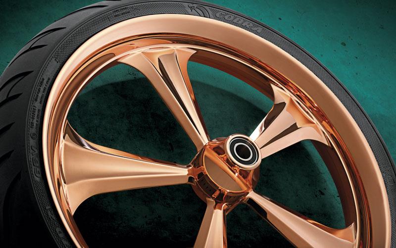 Renegade Wheels hjul med kopparfinish