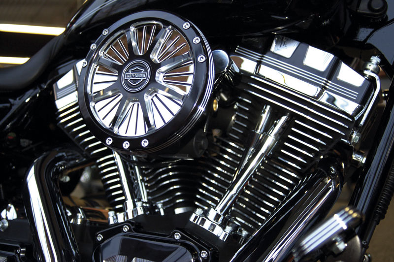 Harley-Davidsons Screamin' Eagle Burst-luftrenare