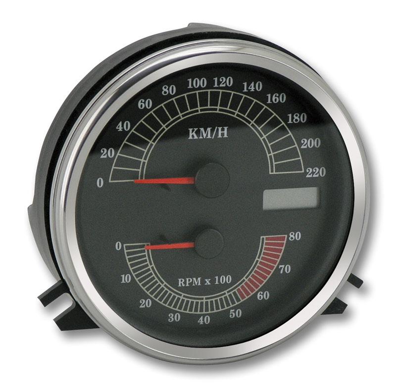 Kombinerad hastighetsmätare och varvräknare