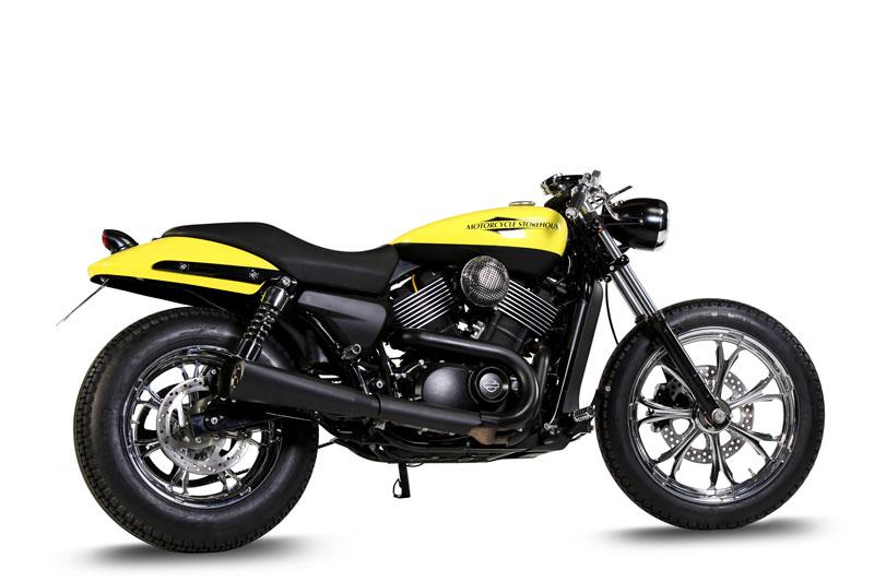 Motorcycle Storehouse stylar din Harley-Davidson Street 750