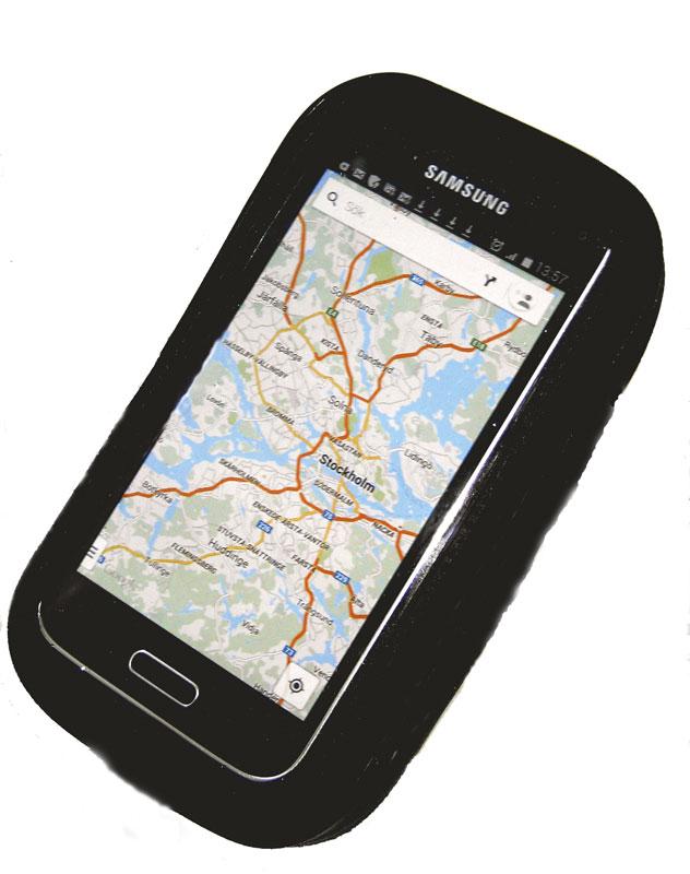 Ovanliga Klockors telefonhållare/fodral