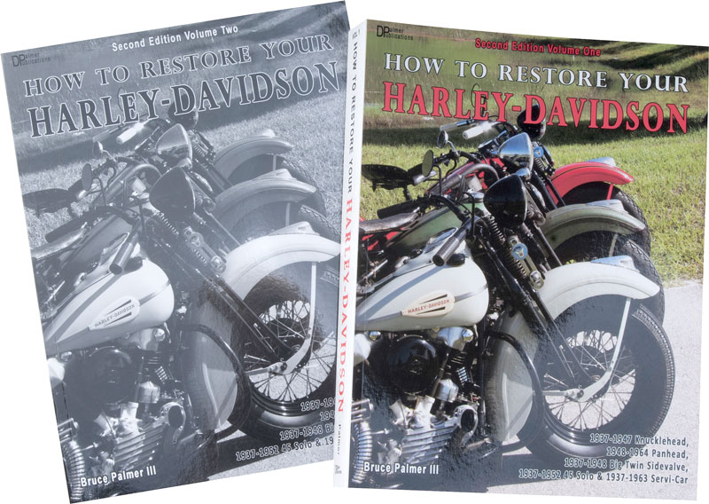 Dags att restaurera din gamla Harley-Davidson