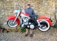 Fullskalig Harley-Davidson-modell