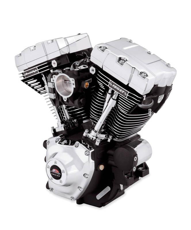 Harley-Davidsons 120-kubiktummare för touringhojar