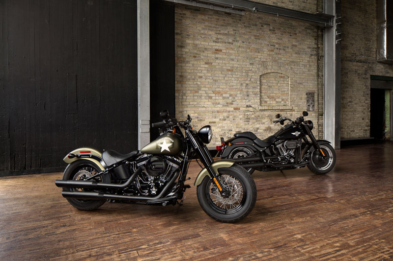 Harley-Davidson Softail Slim S och Fat Boy S