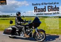 Provkörning – Tomas tog en ny Road Glide och for till Norrland
