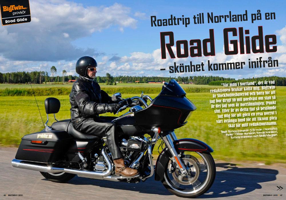 Provkörning - Road Glide 2015