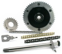 Zippers Performance Chain Conversion Kit – Ryckdämpad kedjedrift till touringhojen