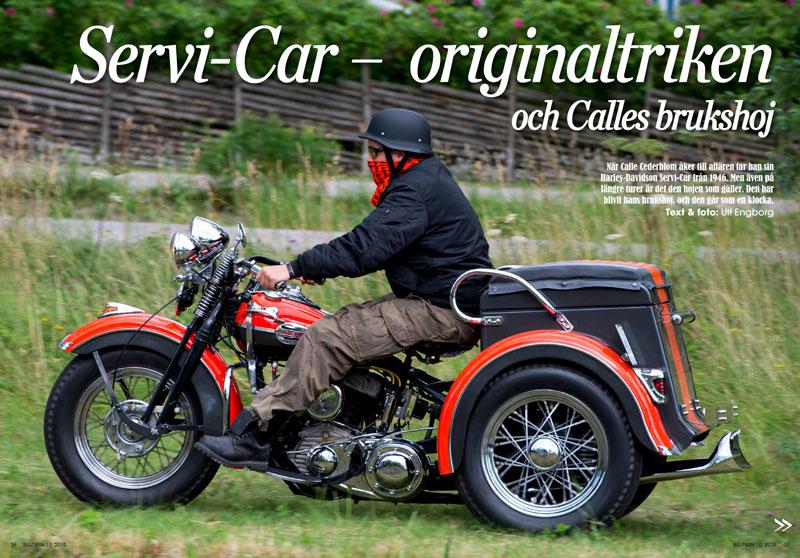 Calle Cederbloms Harley-Davidson Servi-Car -46