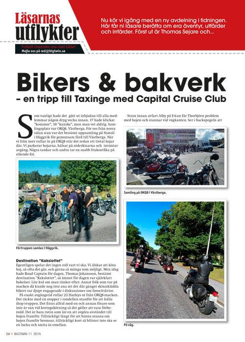 """Capital Cruise Clubs utflykt till """"kakslottet"""""""