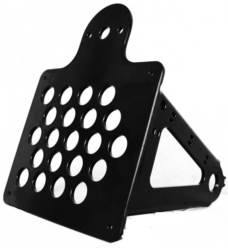 BOA:s sidmonterade skylthållare