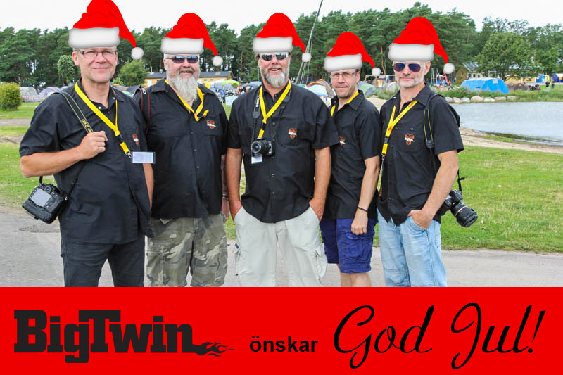 BigTwin önskar God Jul!