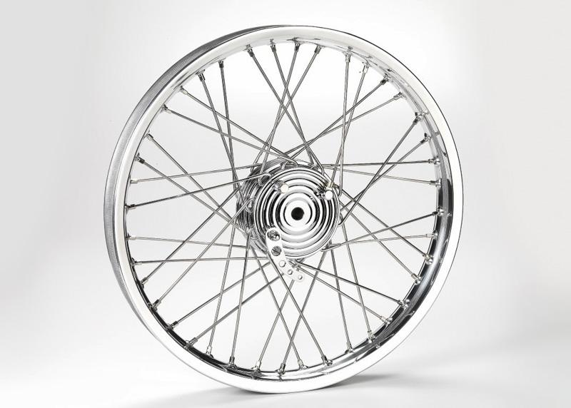 Kustom Techs lilla minitrumbroms för framhjulet