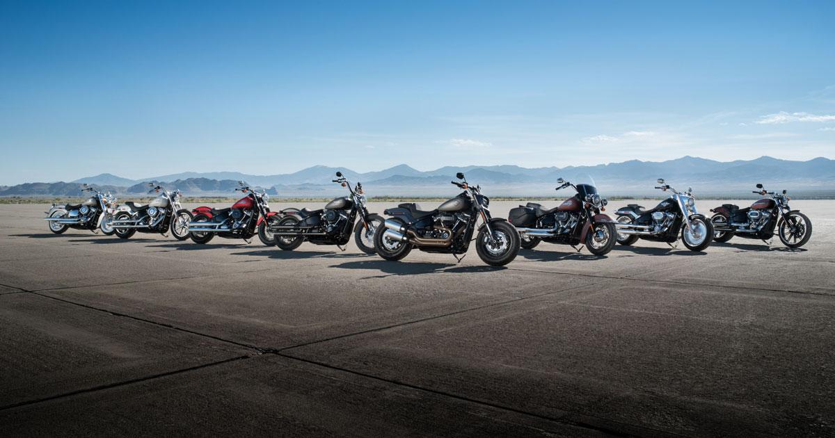 Harley-Davidsons Softail-modeller 2018
