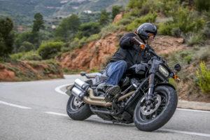 Björn provkör Harley-Davidson Fat Bob 2018