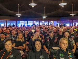 H-DCS höll årsmötet under lördagen och det drogs ut på tiden. Punkten övriga frågor fick stort utrymme bland de 306 som deltog på mötet.