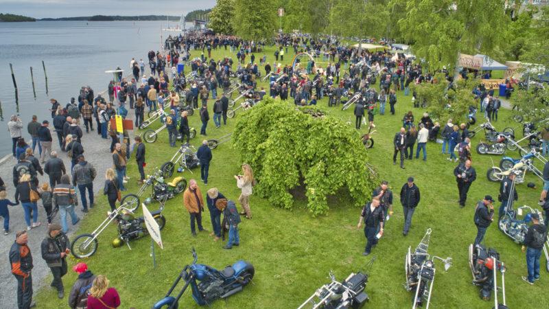 Custom Bike Show 2019 i Norrtälje.